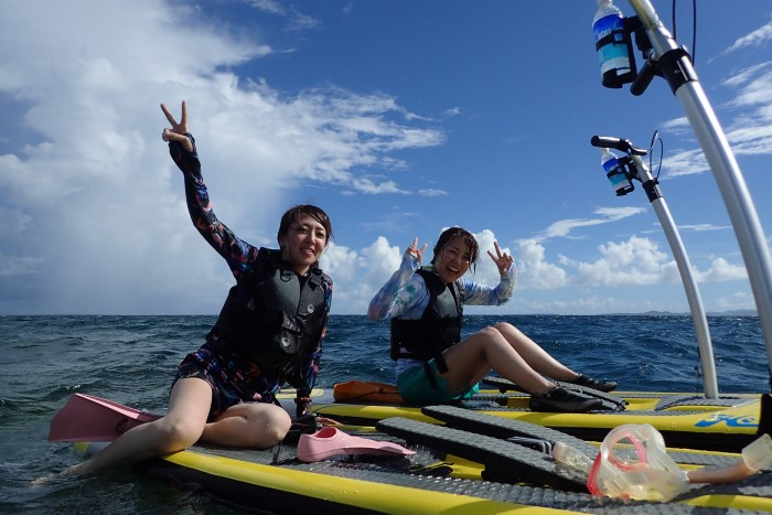 SUPPY and Snorkeling Course写真02