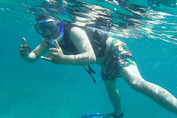 SUPPY and Snorkeling Course写真06